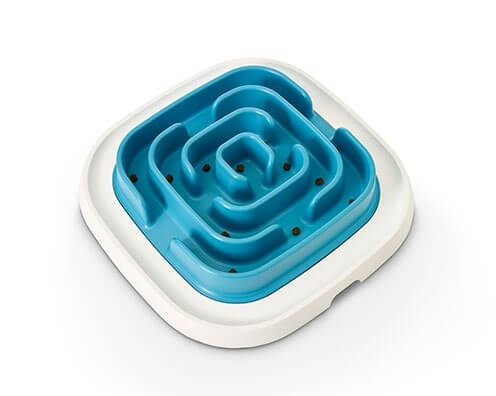 denkspiel und anti schling napf pet enigma large 21 blau. Black Bedroom Furniture Sets. Home Design Ideas