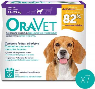 ORAVET chew dog barres à mâcher