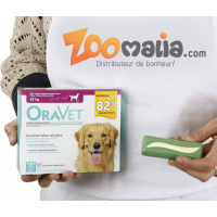 ORAVET chew dog barres à mâcher pour chien