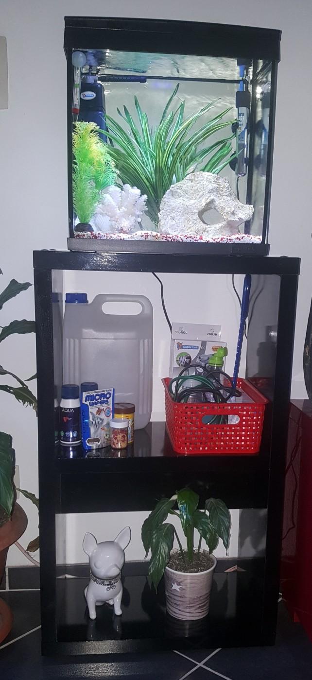 meuble pour aquarium superfish home noir aquarium et meuble. Black Bedroom Furniture Sets. Home Design Ideas