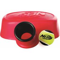 Jouet Nerf Dog - Lanceur de balle de tennis à pied