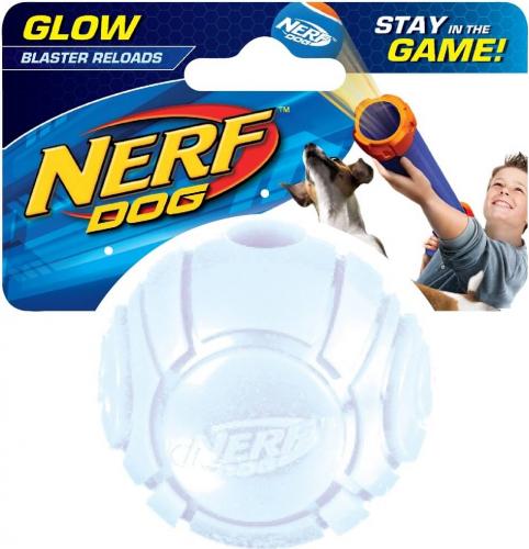 Balle pour chien Nerf - Tennis Blaster Fluo