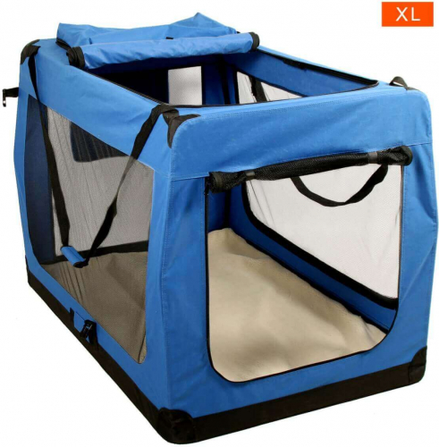 niche pliante zolia elory pour chien et chat niche. Black Bedroom Furniture Sets. Home Design Ideas