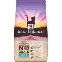 HILL'S Ideal Balance Sans Céréales Thon & Pommes de terre pour Chat adulte