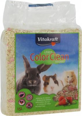 Color Clean Litière Parfumée Fraise
