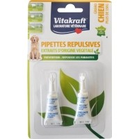 Pipettes Insectifuges pour Chien