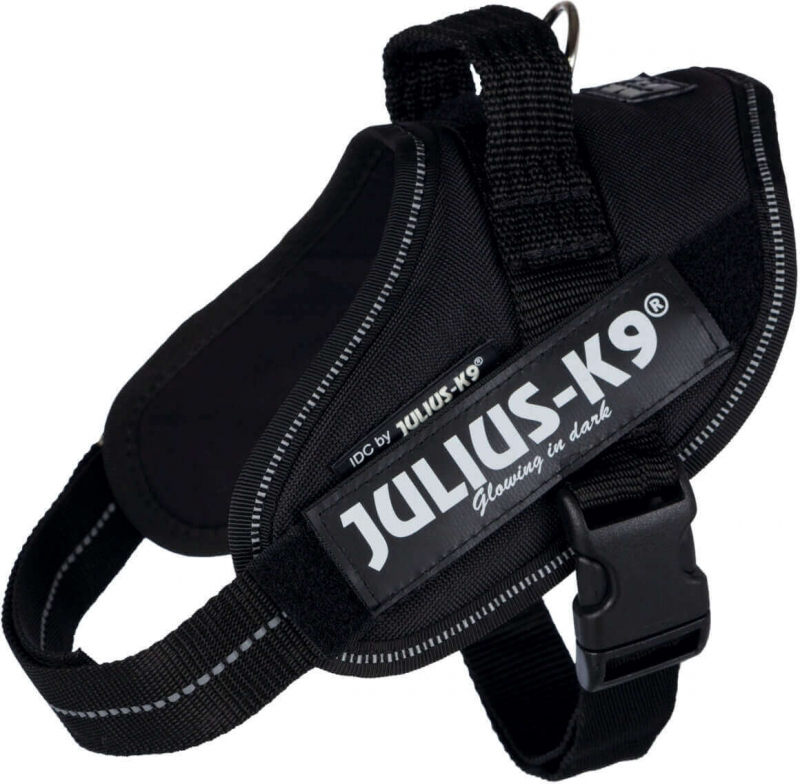 Geschirr Power Julius-K9 IDC schwarz