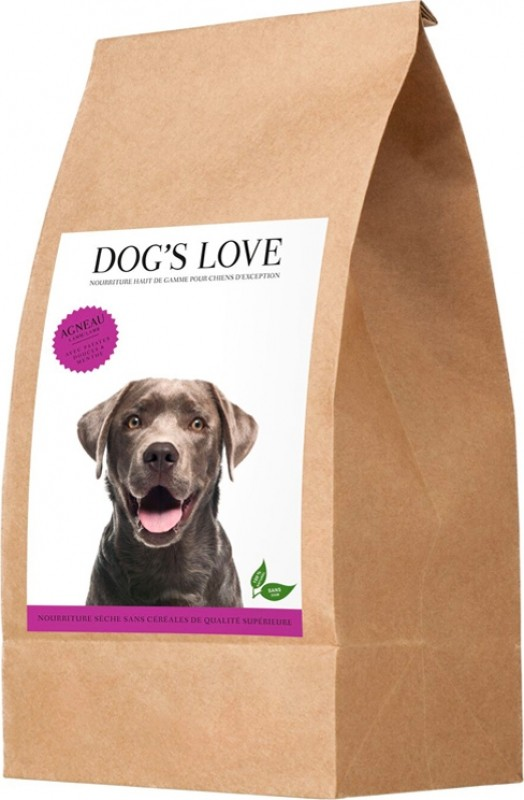 Croquettes DOG'S LOVE Agneau pour chien sans céréales