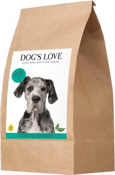 DOG'S LOVE Canard pour chien sans céréales