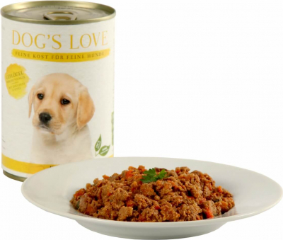 Pâtée volaille DOG'S LOVE pour chiots et junior