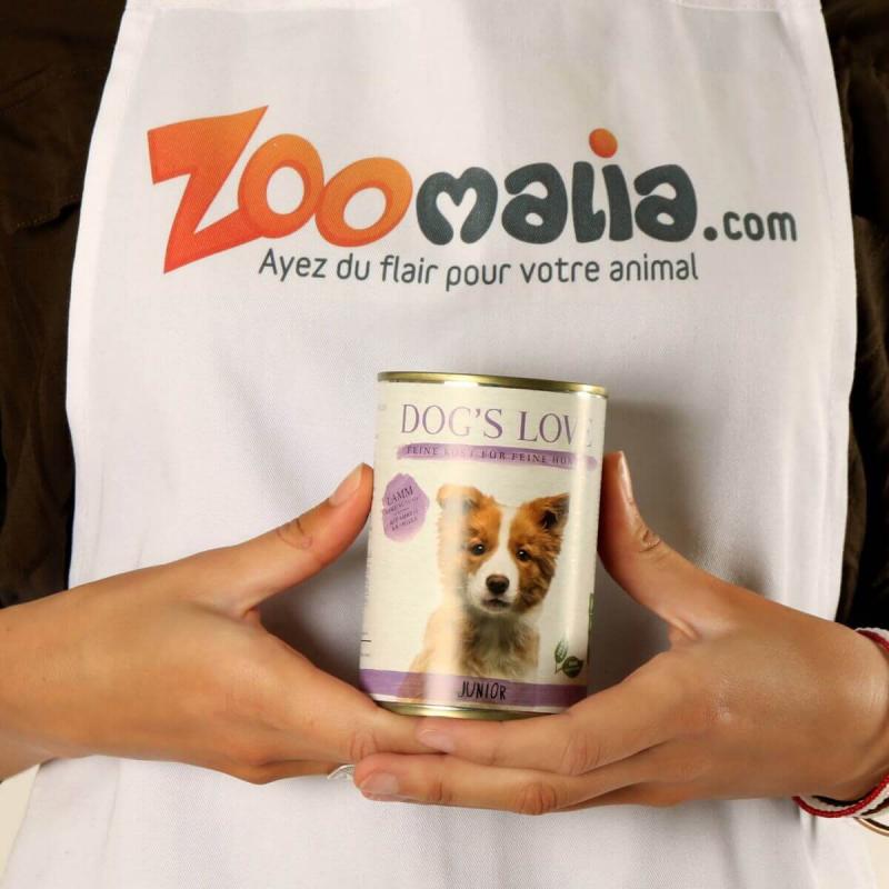 Pâtée agneau DOG'S LOVE pour chiots et junior