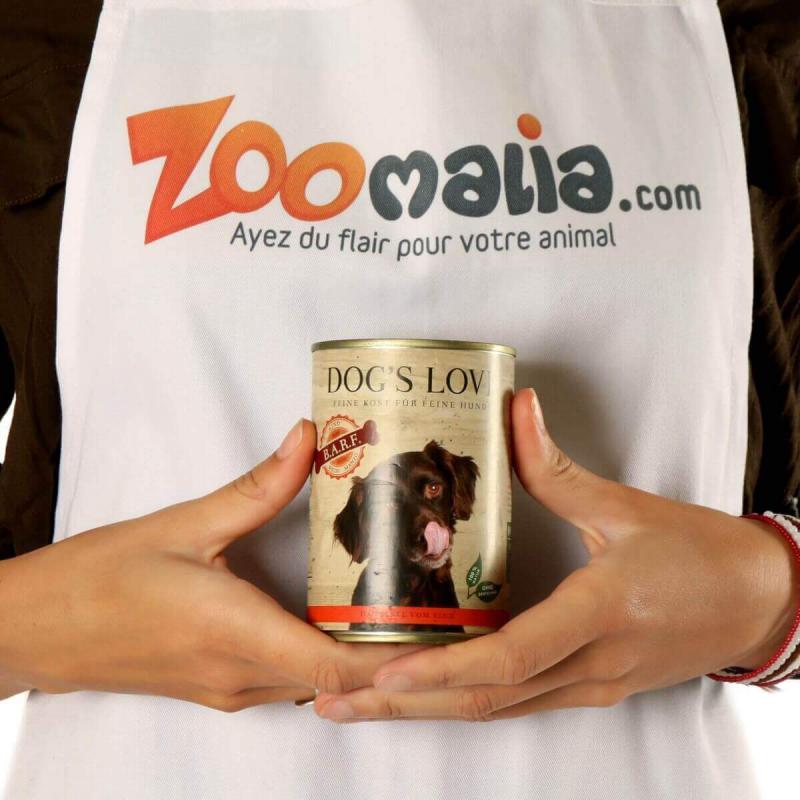Pâtée DOG'S LOVE Barf 100% viande