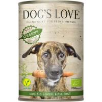 Pâtée DOG'S LOVE Bio-Greens 100% légumes BIO
