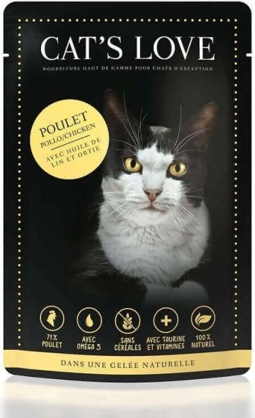 Wet Food CAT'S LOVE Adulte 85g