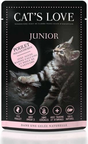 CAT'S LOVE Kitten/Junior 85g