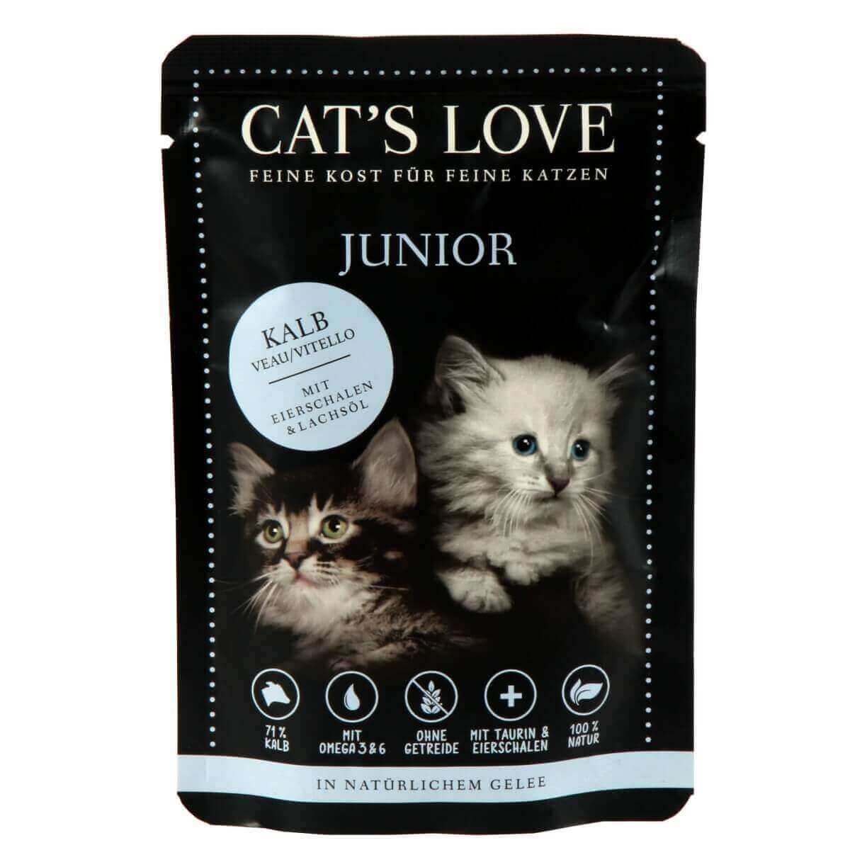 CAT'S LOVE Kitten/Junior 85g_4