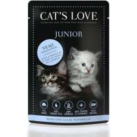 Pâtée naturelle CAT'S LOVE Chaton 85g - 2 saveurs au choix