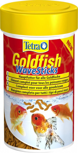 Tetra goldfish wave sticks nourriture en granul s for Goldfish nourriture