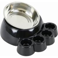 Gamelle pour chien patte ZOLIA PAYA - Noir (2)