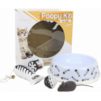 POOPY KIT for Cat - Kit Gamelle et Jouets pour chat