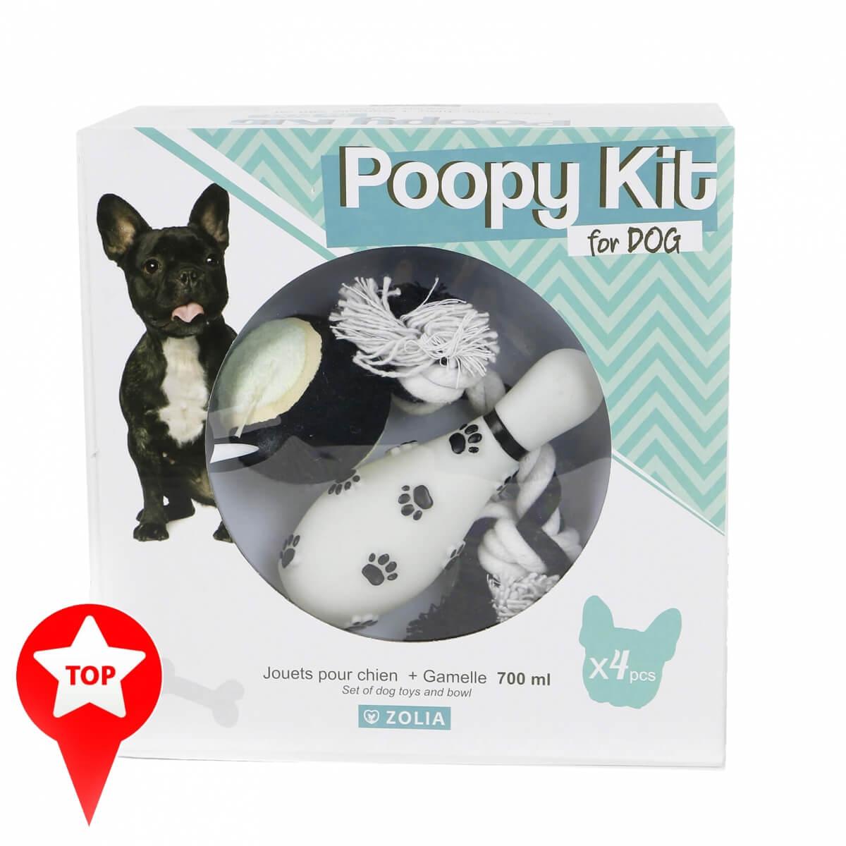 POOPY KIT for Dog Gamelle et Jouets pour chien _0