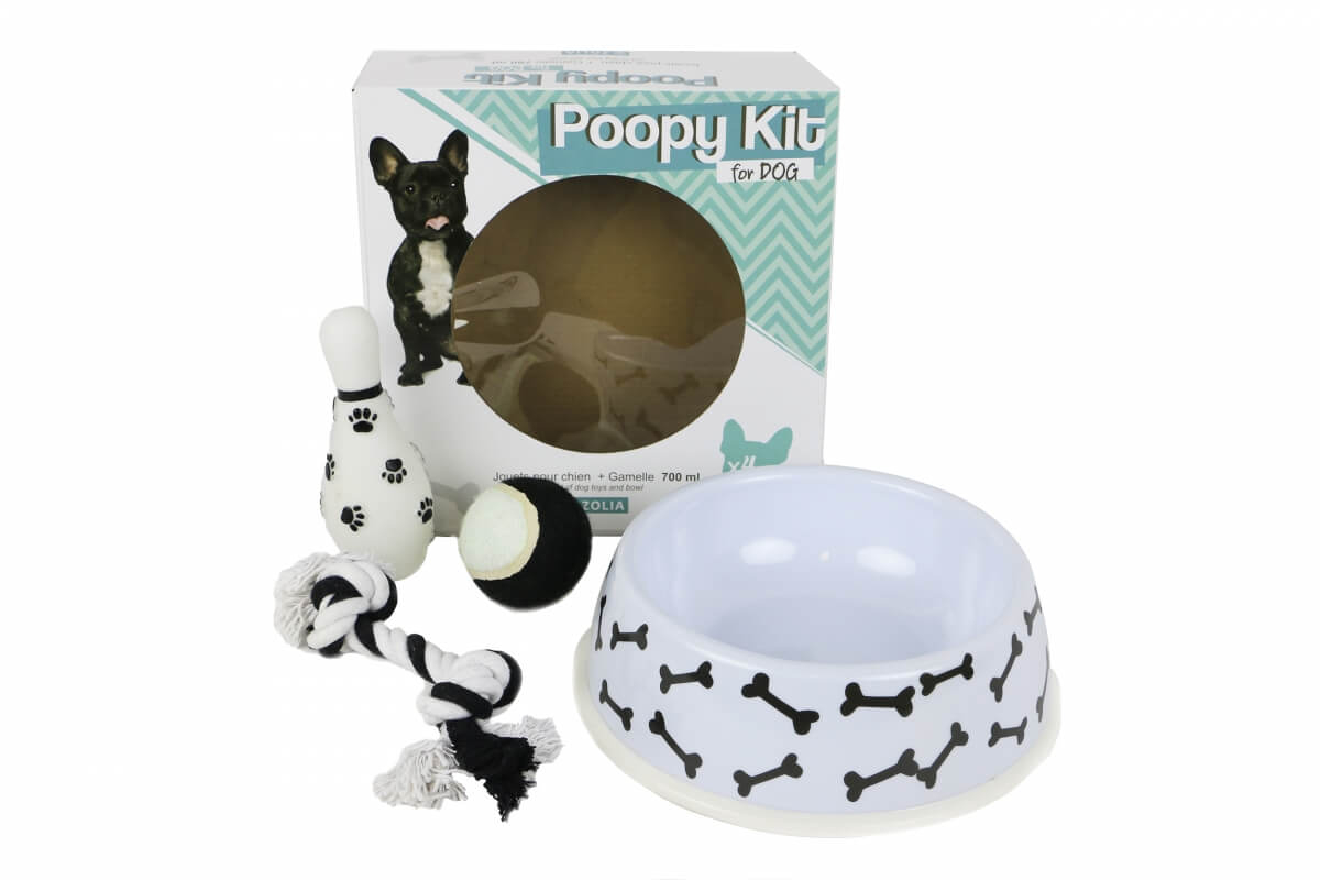 POOPY KIT for Dog Gamelle et Jouets pour chien _2