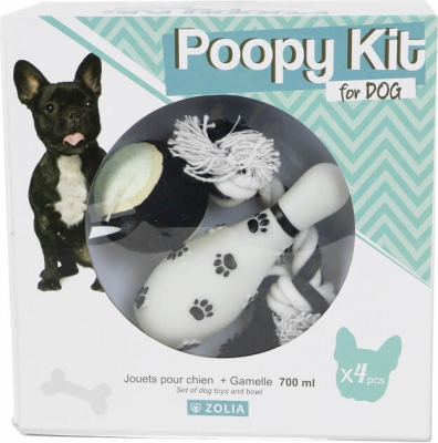 PUPPY KIT for Dogs - Bowl and Toys