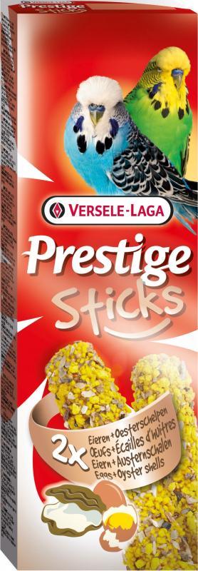 Sticks Periquitos Huevos y cáscaras de ostras