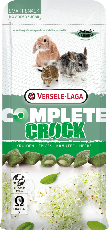 Versele Laga Complete Crock Herbs pour rongeurs et lapins