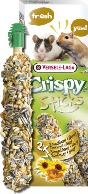 Versele Laga Crispy Sticks Jerbos y Ratones Girasol & Miel