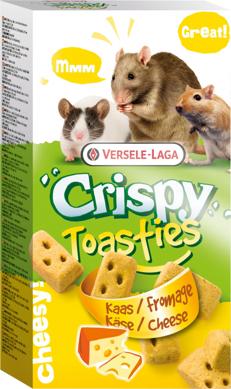 Versele Laga Crispy Toasties pour petits mammifères