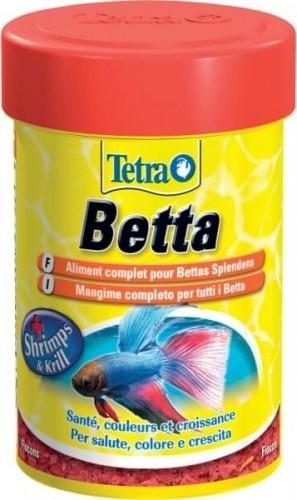 Tetra bettamin pour combattants nourriture en flocons for Nourriture combattant