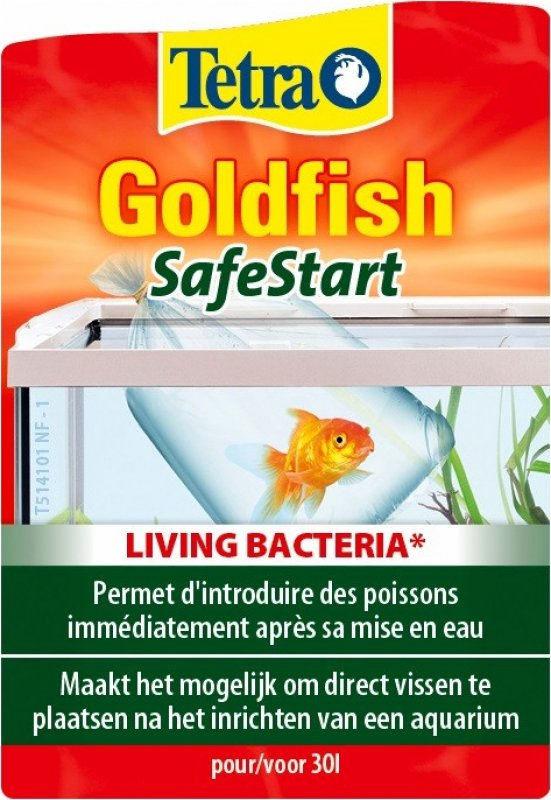 Tetra GoldFish SafeStart poissons rouges