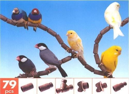 FLEX - Sitzstange für Vögel als Stecksystem
