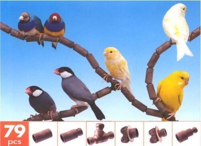 Flexible Bird Perch