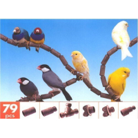 Perchoir pour oiseaux flexible FLEX