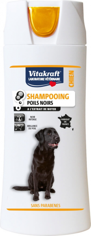 Shampoing poils noirs Chien