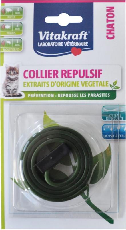 Collier répulsif pour chaton