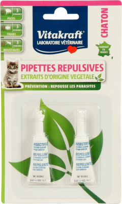 Pipettes Insectifuges Pour Chaton