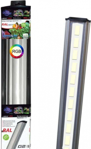 Rampa LED con espectro completo Lumivie LED/RAL RGB
