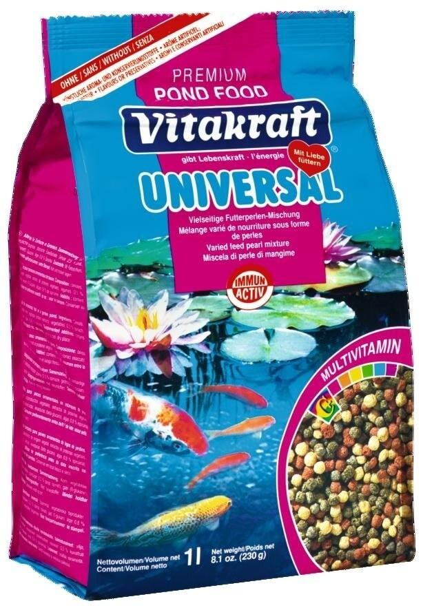 Pond food universal im frischebeutel futter f r teichfische for Teichfische futter