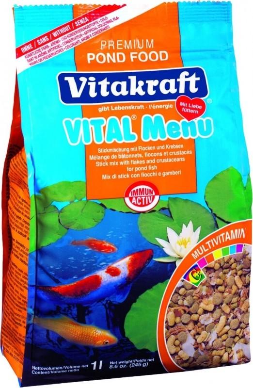 Pond Food Menu Vital