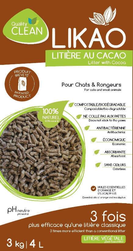 Litière granulés de bois au Cacao LIKAO_1