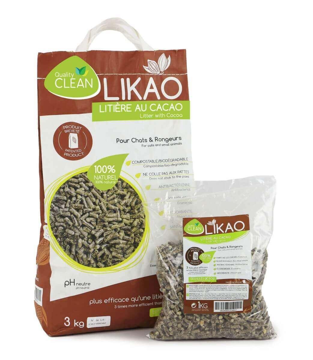Litière granulés de bois au Cacao LIKAO_4