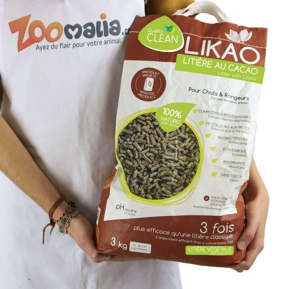 Litière granulés de bois au Cacao LIKAO_7