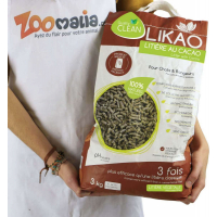 Wood Pellet Litter with cocoa LIKAO