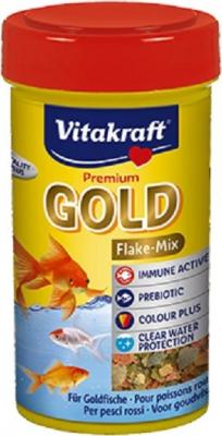 Premium Gold vlokvoer voor goudvissen