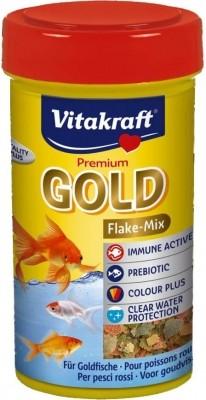 Premium Gold aliment en flocons pour poissons rouges