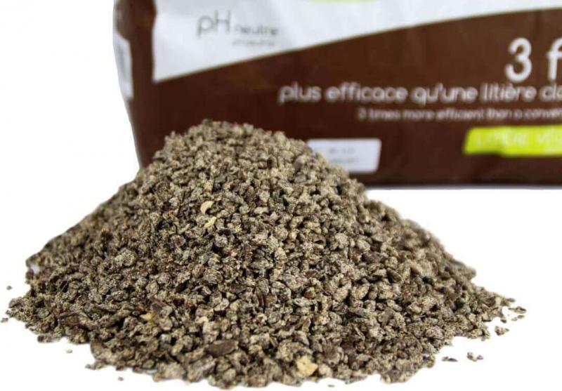 Litière agglomérante au cacao pour chat et rongeurs LIKAO EXTRA