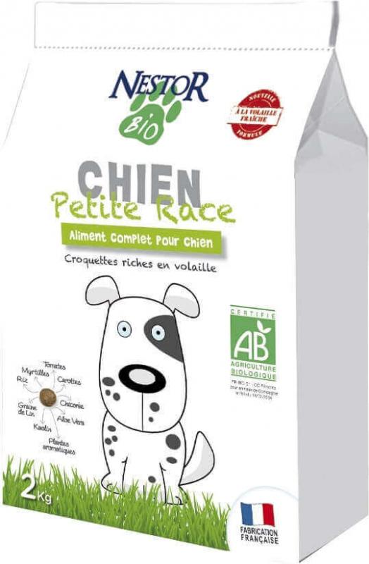 NESTOR BIO Croquettes BIO pour chien Petites Races